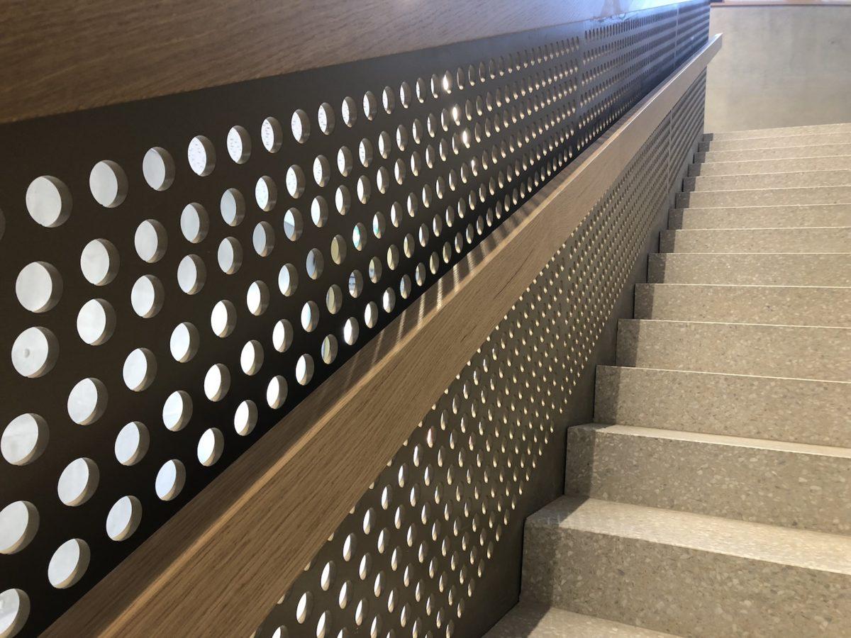 Detail escalier
